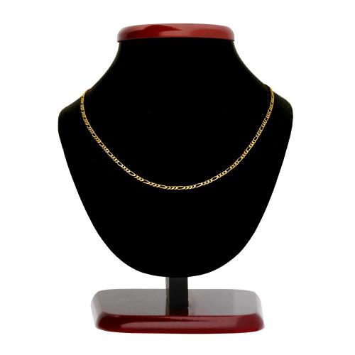 Złoty łańcuszek - Figaro 50cm pr. 585