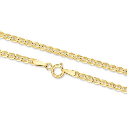 Złoty łańcuszek - Gucci 45cm pr. 333