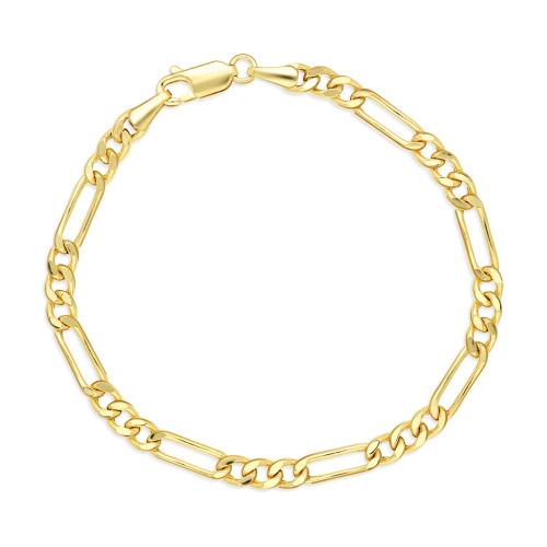 Złota bransoletka - Figaro 18cm pr.333