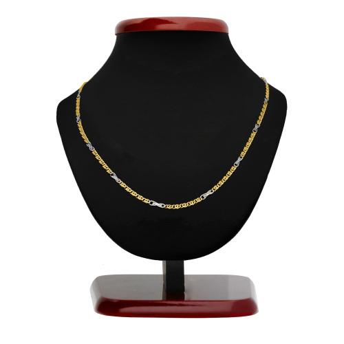 Złoty łańcuszek - Garibaldi 50cm pr. 585