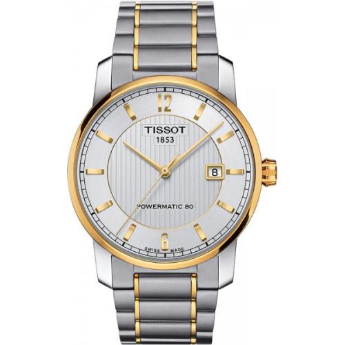 Zegarek Tissot T-Classic T087.407.55.037.00 Titanium Automatic