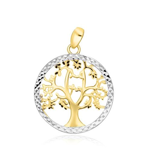 Złota zawieszka - Drzewo Życia pr.333