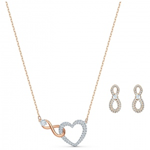 Zestaw Swarovski - Symbolic Star Set, Rose Gold 5517178