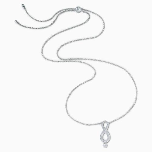 Naszyjnik Swarovski - Infinity, Silver 5537966