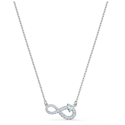 Zestaw Swarovski - Infinity, Silver 5540702