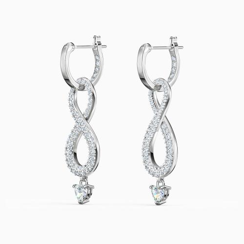 Kolczyki Swarovski - Infinity, Silver 5520578