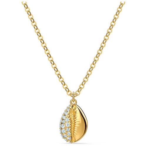 Naszyjnik Swarovski - Shell Pave, Gold 5522886