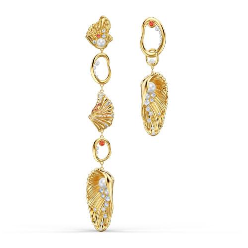 Kolczyki Swarovski - Shell Angel, Gold 5520664