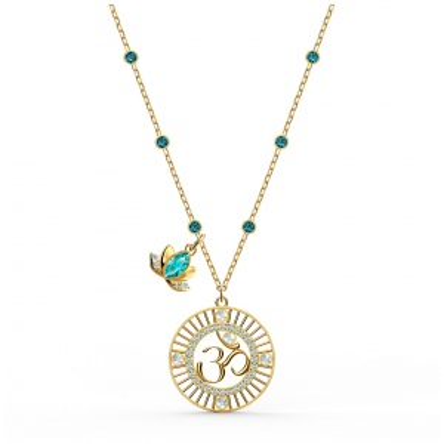 Naszyjnik Swarovski - Symbolic Lotus, Gold 5521451