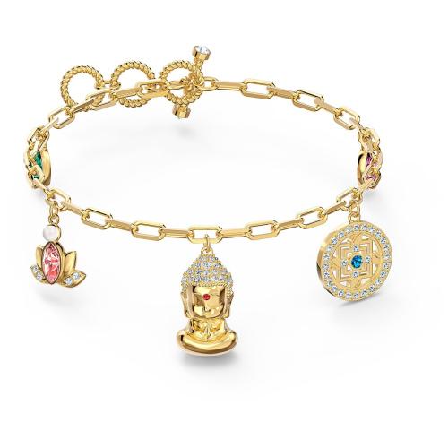 Bransoletka Swarovski - Symbolic Buddha, Gold 5514410