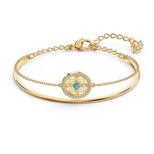 Bransoletka Swarovski - Symbolic Mandala Bangle, Gold 5521493