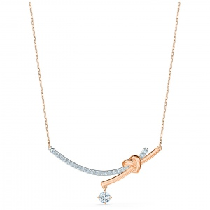 Naszyjnik Swarovski - Lifelong Heart, Rose Gold 5517951