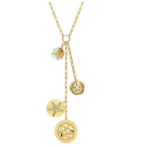 Naszyjnik Swarovski - Shine Y, Gold 5524186