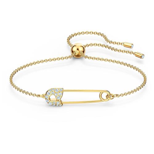 Bransoletka Swarovski - So Cool Pin, Gold 5512739