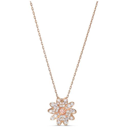 Naszyjnik Swarovski - Eternal Flower, Rose Gold 5540973