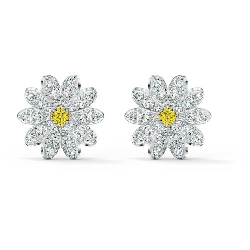 Kolczyki Swarovski - Eternal Flower, Silver 5518145