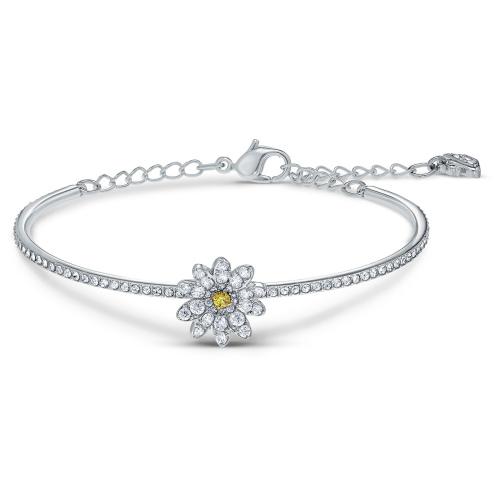 Bransoletka Swarovski - Eternal Flower Bangle, Silver 5542012