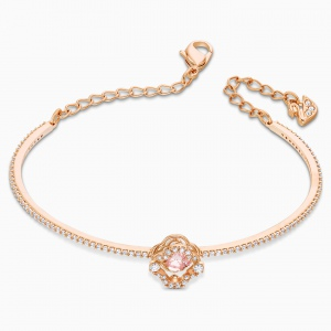 Bransoletka Swarovski - Sparkling Dance Bangle, Rose Gold 5516476