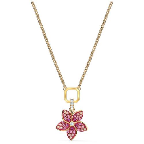Naszyjnik Swarovski - Tropical Flower, Gold 5524356