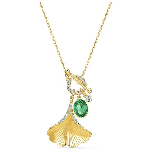Naszyjnik Swarovski - Stunning Ginko, Gold 5515465