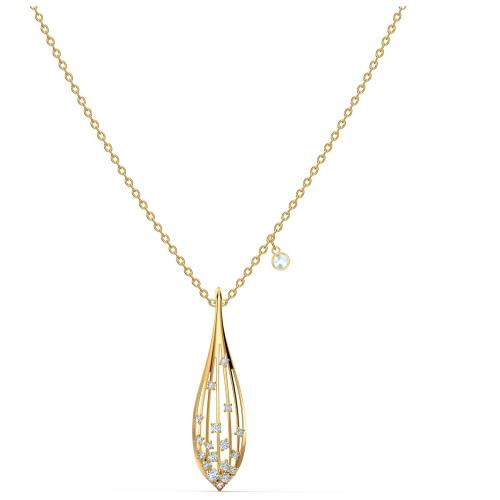 Naszyjnik Swarovski - Stunning Olive, Gold 5515466