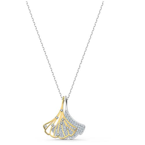 Naszyjnik Swarovski - Stunning Ginko, Silver & Gold 5515462