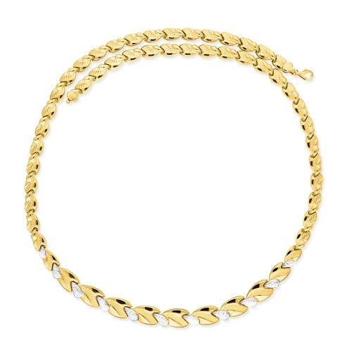Złoty naszyjnik - Kolia 50cm pr.585