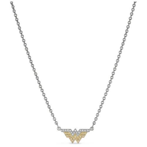 Naszyjnik Swarovski - Fit Wonder Woman, Silver & Gold 5522407