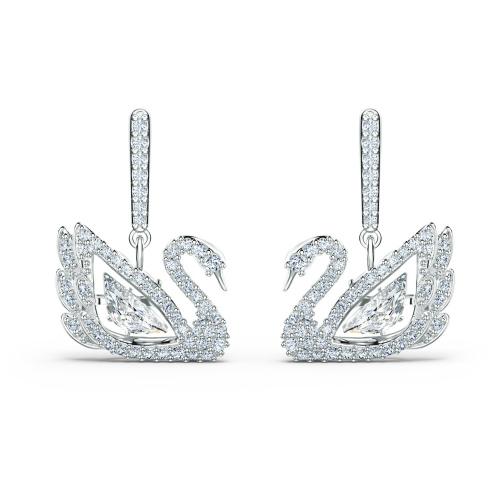 Kolczyki Swarovski - Dancing Swan, Silver 5514420