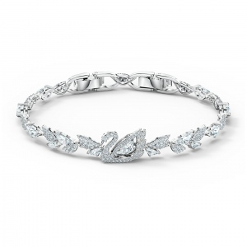 Bransoletka Swarovski - Dancing Swan, Silver 5536767