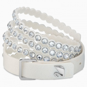 Bransoletka Swarovski - Power, White 5518697