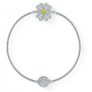 Swarovski - Remix Collection Flower Strand, Silver 5520651