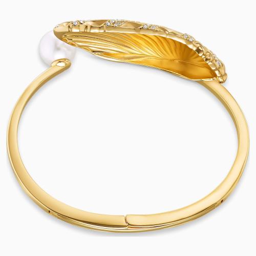 Bransoletka Swarovski -  Shell Cuff, Gold 5520665