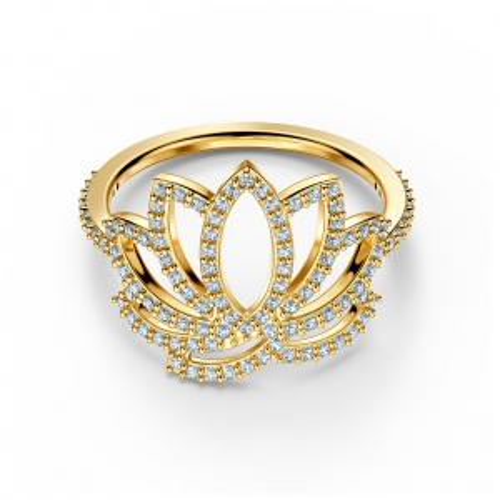 Pierścionek Swarovski - Lotus, Gold