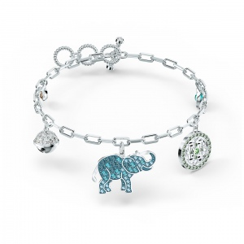 Bransoletka Swarovski - Symbolic Elephant, Silver 5521444