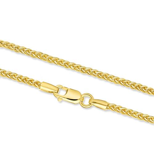 Złoty Łańcuszek Lisi Ogon 45cm pr. 333