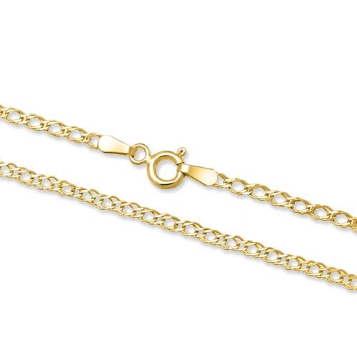 Złoty łańcuszek - Nonna 55cm pr.585