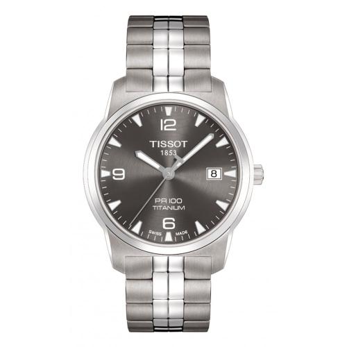 Tissot T-Classic T049 410 44 067 00 PR 100 Gent Titanium