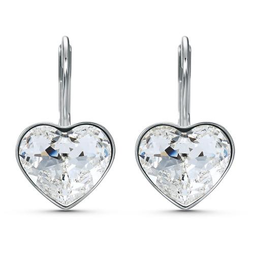 Kolczyki Swarovski - Bella Heart, Silver 5515191