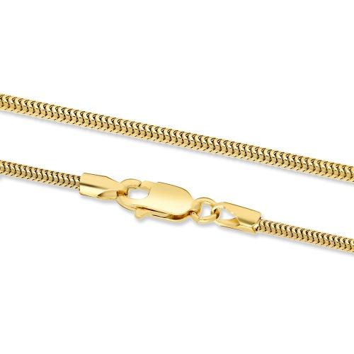 Złoty Łańcuszek Żmijka 55cm pr. 585