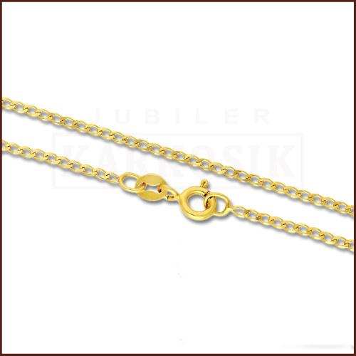 Złoty Łańcuszek Pancerka 50 cm pr. 585