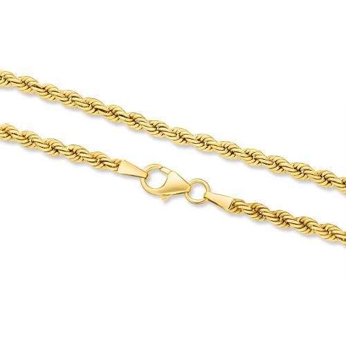 Złoty Łańcuszek Kordel 50cm pr. 333