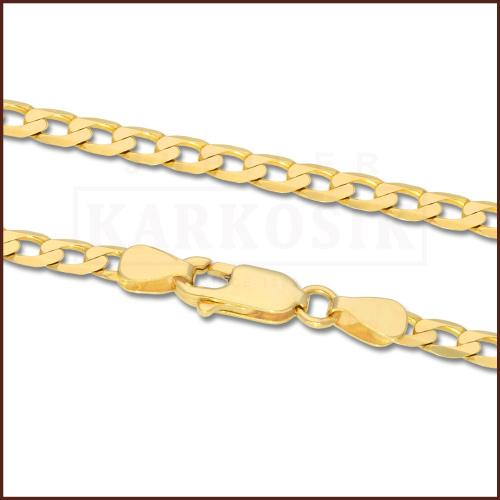 Złoty Łańcuszek Pancerka 55cm pr. 333