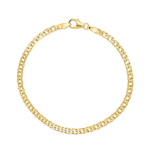 Złota bransoletka - Nonna 21cm pr.333