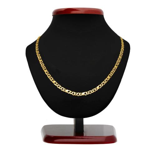 Złoty naszyjnik 45cm pr.585