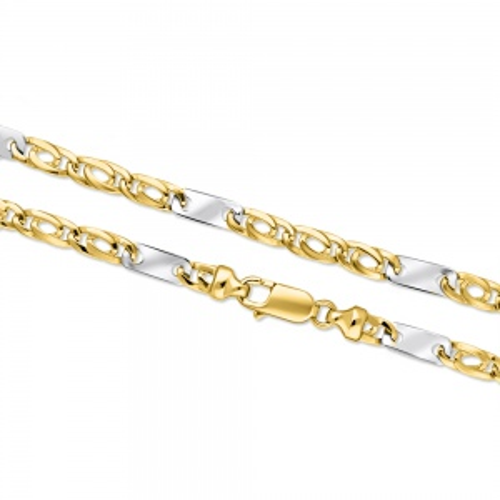 Złoty naszyjnik 55cm pr.585