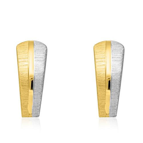 Złote kolczyki pr.585