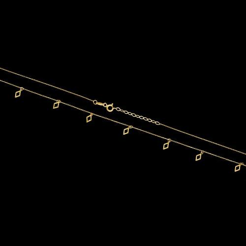 Złoty naszyjnik celebrytka - Latawce pr.333