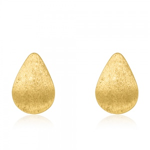 Złote kolczyki - Krople pr.585