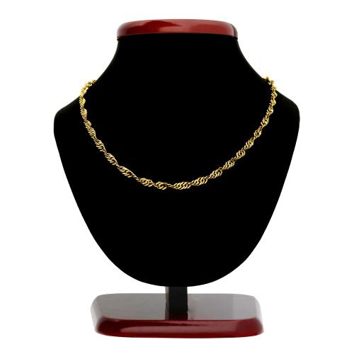 Złoty łańcuszek - Singapur 45cm pr.333